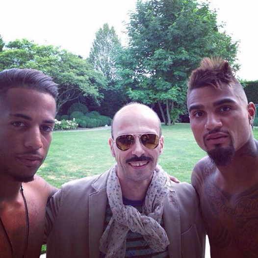 Kevin Boateng's fresh haircut