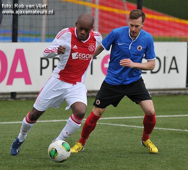 Kenneth Danso scored for Ajax II