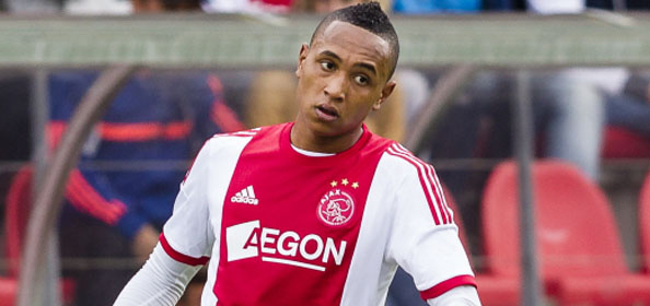 Kenny Tete sat on Ajax's bench