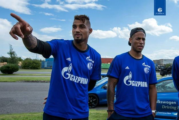 Kevin-Prince Boateng is a doubt for Schalke 04