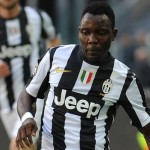 Kwadwo Asamoah beats off Patrice Evra challenge to play full throttle as Juventus make winning start to Serie A campaign