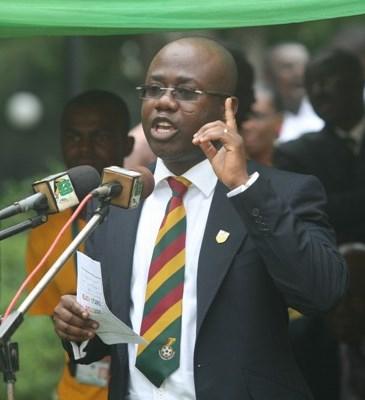 Ghana FA boss Kwesi Nyantakyi