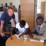 PHOTO GALLERY: Augustine Okrah seals loan move to Swedish side BK Hacken