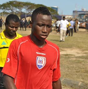 Prosper Kassim could head to Hearts of Oak