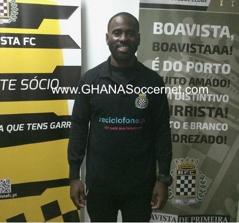 Quincy Owusu Abeyie joins Boavista