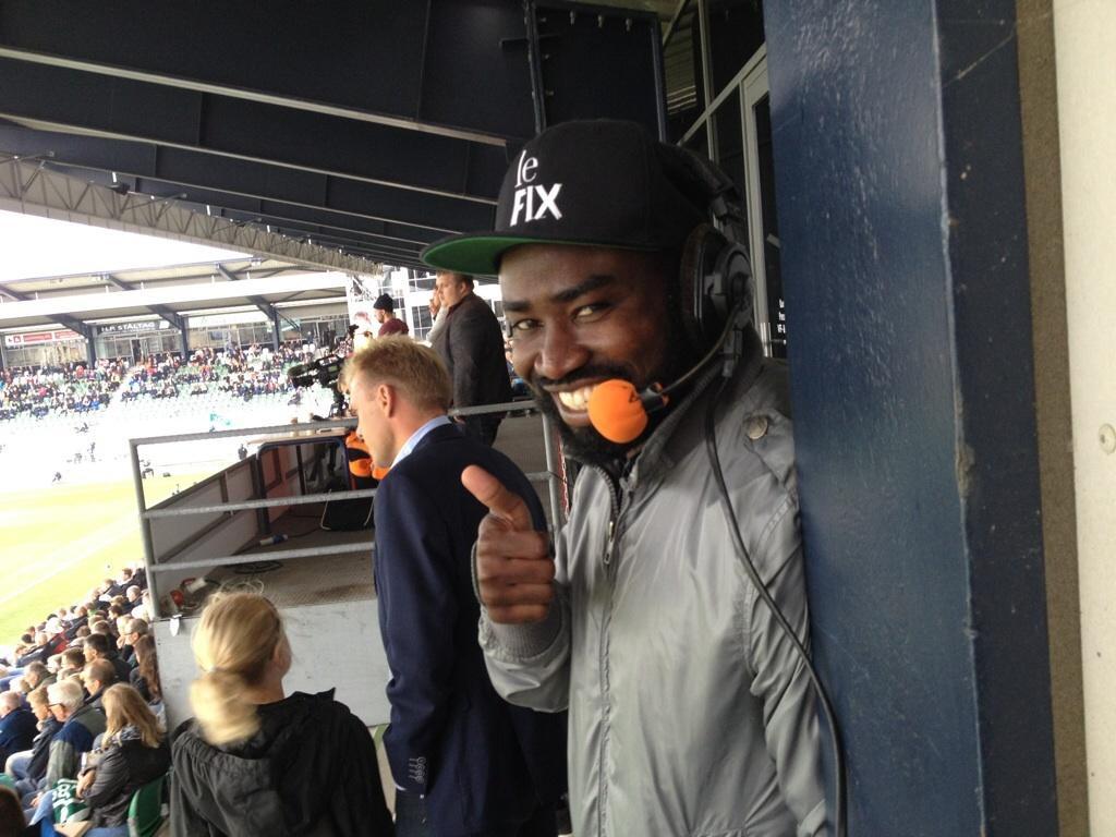 Ex-Ghana striker Razak Pimpong making waves as football commentator in Denmark