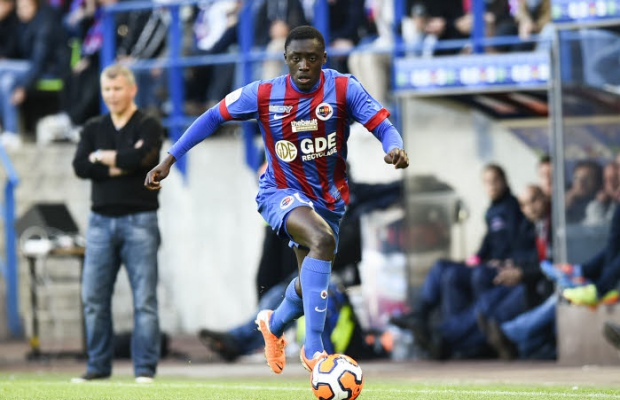 Rookie left-back Dennis Appiah returned from suspension to help Caen