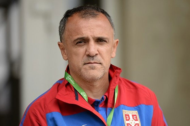 Serbian coach Ljubinko Drulovic