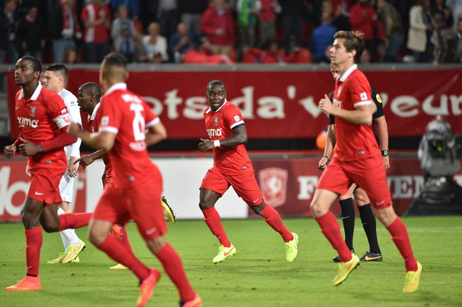 Shadrach Eghan scored for FC Twente