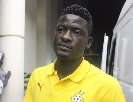 Striker Sulley Mohammed