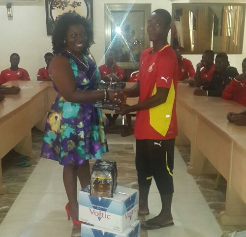 T&T Properties making donation to Ghana U20 team