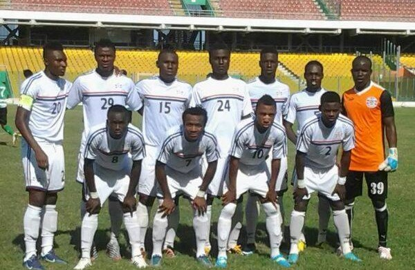 Tuffour Frimpong, middle in 24 jersey, could join BA United