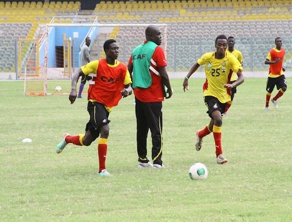 Ghana U20 drew 1-1 with Namibia's U23 in Accra.