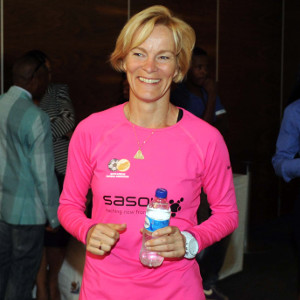 South Africa women's national team coach Vera Peuw