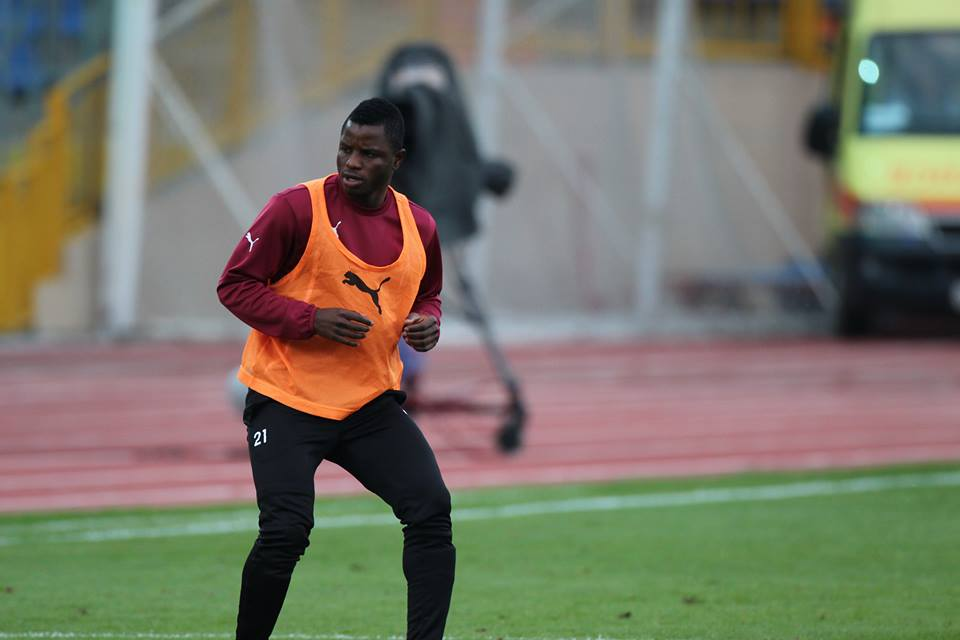 Wakaso Mubarak was unused by Rubin Kazan'