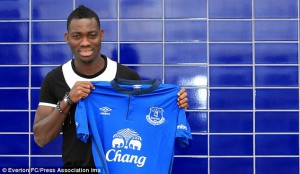 Ghana winger Christian Atsu is set to start training with English side Everton on Thursday after completing a season-long loan deal from Chelsea.