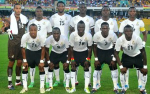 Ghana will play Guinea at a neutral venue Sierra Leone after CAF told them to relocate their home Africa Cup of Nations qualifiers because of the Ebola virus outbreaks in their country.