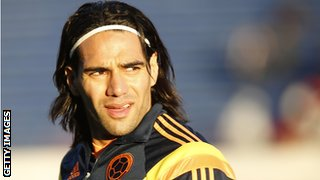 Falcao has been linked with a move to Chelsea