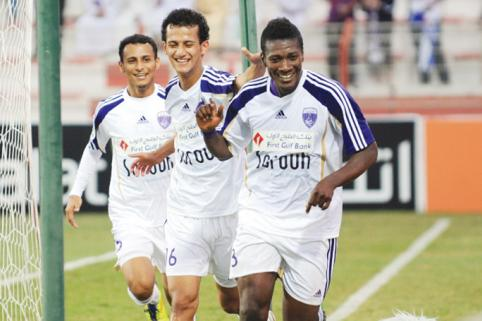 Ghana striker Asamoah Gyan set to propel Al Ain in Champions League quarter-finals