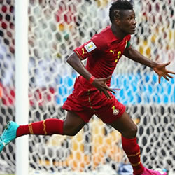 FIFA technical study reveals Gyan, Andre & Afful are Ghana's best players at 2014 World Cup
