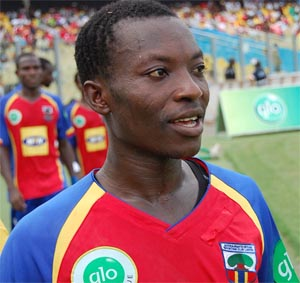 Kofi Abanga is not in a hurry to move abroad