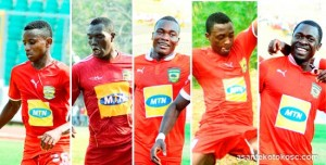 Three newly signed players include former Medeama forward, Richard Oti; former Amidaus goalkeeper, Ofori Antwi and former Wa All Stars' central defender, Akwasi Acheampong.