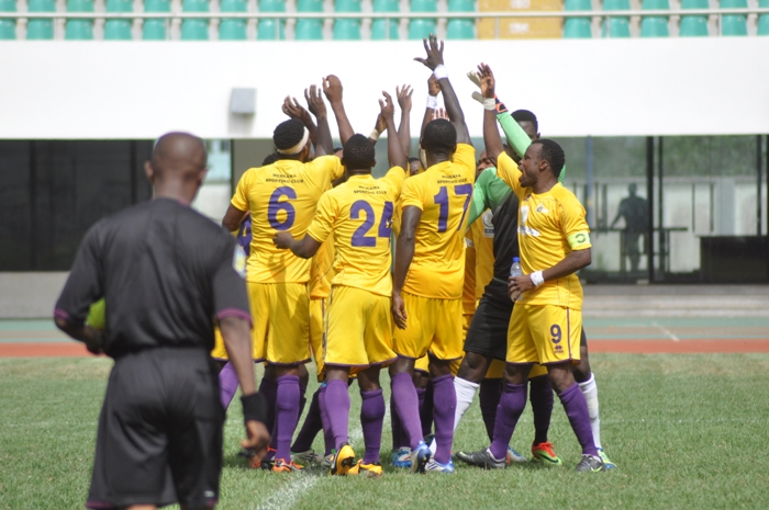 Medeama have been fined $15,000 for crowd trouble