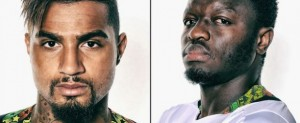 Suspended Black Stars midfielders, Sulley Muntari and Kevin-Prince Boateng, will be among the the headline-makers