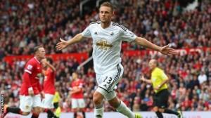 Swansea upstage Manchester United in Louis van Gaal's Premier League bow