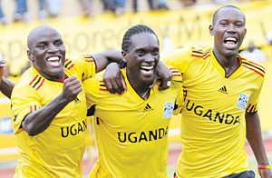 Uganda on Sunday left for Niamey, Niger, for a training camp ahead of a 2015 AFCON qualifier against Ghana in Kumasi on Saturday.