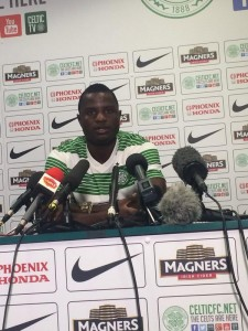 New Celtic signing Wakaso Mubarak wants to make history as the first Ghanaian to play for the Scottish giants.