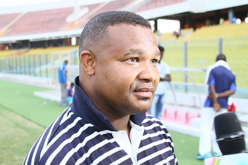 Namibia U23 coach Woody Jacobs