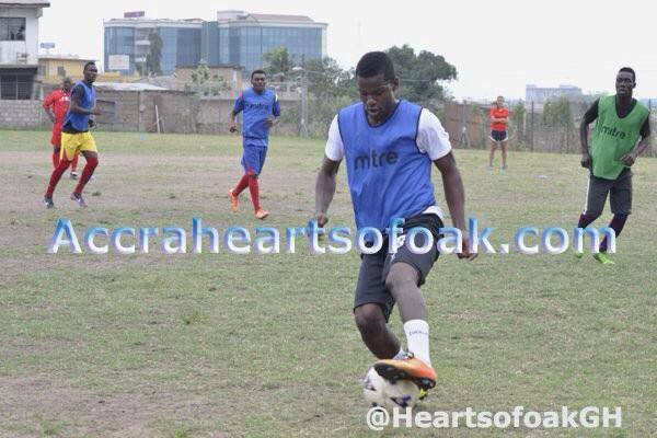 Ahmed Toure scored for Hearts of Oak