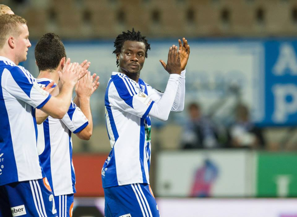 Anthony Annan is happy to win Finnish title