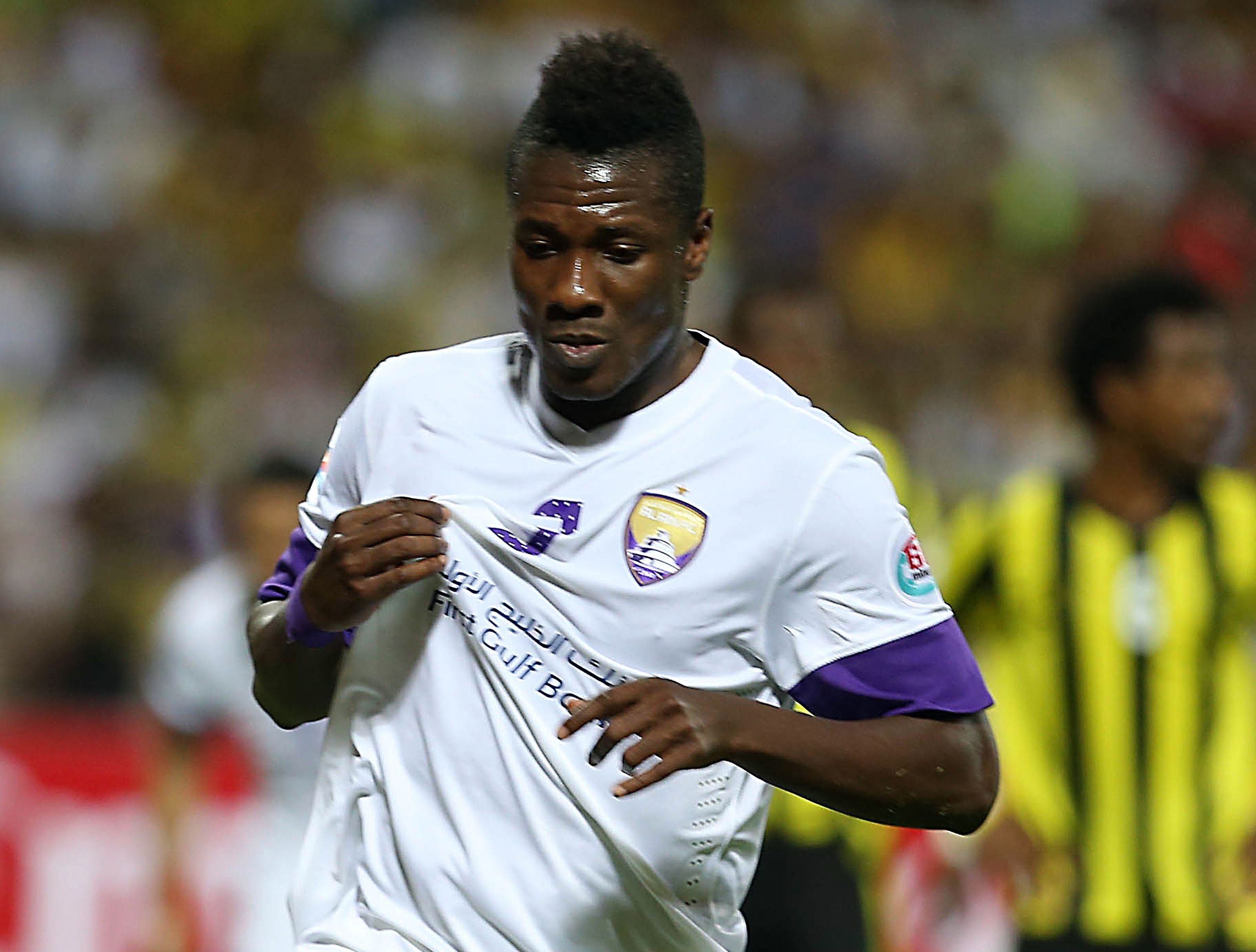 Asamoah Gyan scored for Al Ain on Saturday