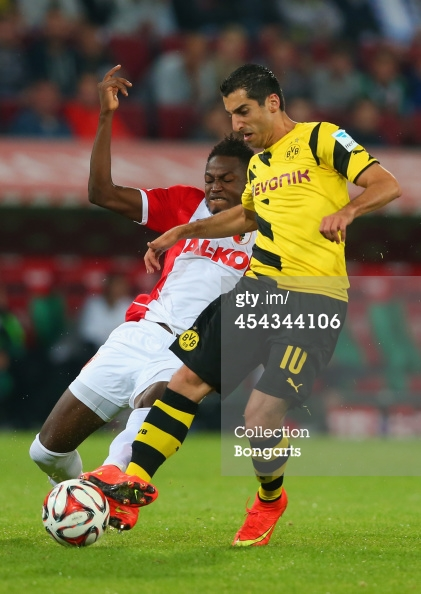Baba Rahman set up two goals against Dortmund