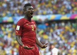 Captain Asamoah Gyan eyes double win for Ghana
