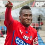 David Accam: Ghana attacker returns to inspire Helsingborg with a brace in Swedish league