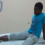 Emmanuel Gyamfi suffers injury in Black Stars B friendly win over Great Olympics