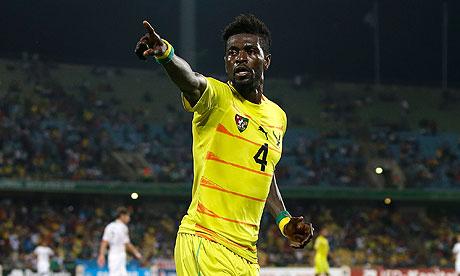 Ghana AFCON qualification opposition Togo sweating over Emmanuel Adebayor injury