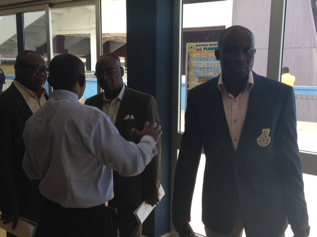 Ghana FA Ex.Co members at World Cup Commission