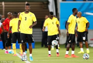 Ghana will take on Uganda on Saturday