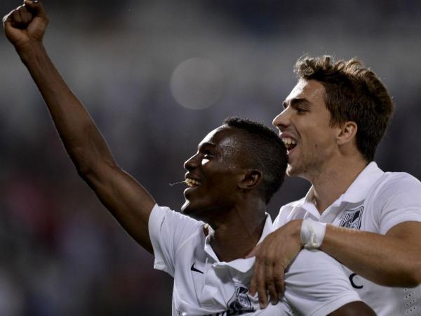FOUR GOALS IN FOUR GAMES: Ghanaian starlet Bernard Mensah scores against FC Porto in Portuguese top-flight