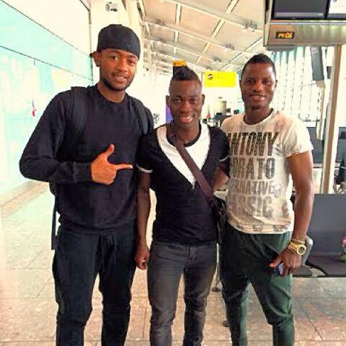 Ghana trio Jordan Ayew, Christians Atsu and Mubarak Wakaso