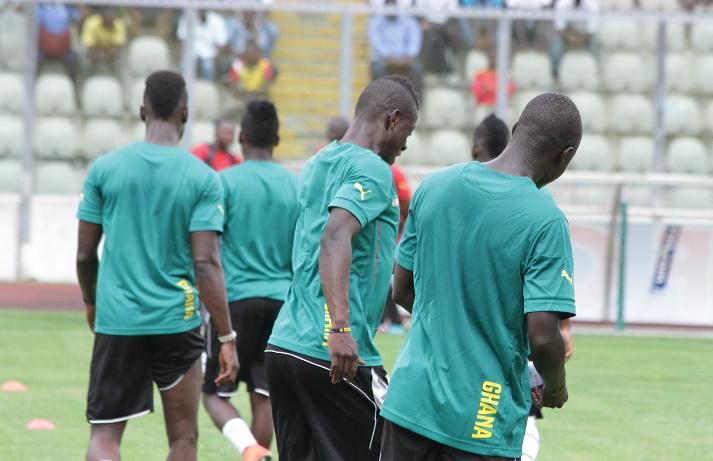 Black Stars players finalizing preparations ahead of Uganda clash