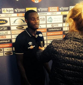 Kingsley Boateng thrilled with his strike for NAC Breda