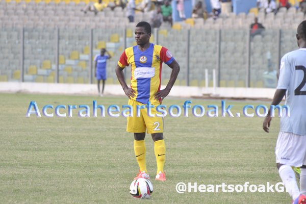 Kotoko are planning to block Ahmed Toure's move to Hearts