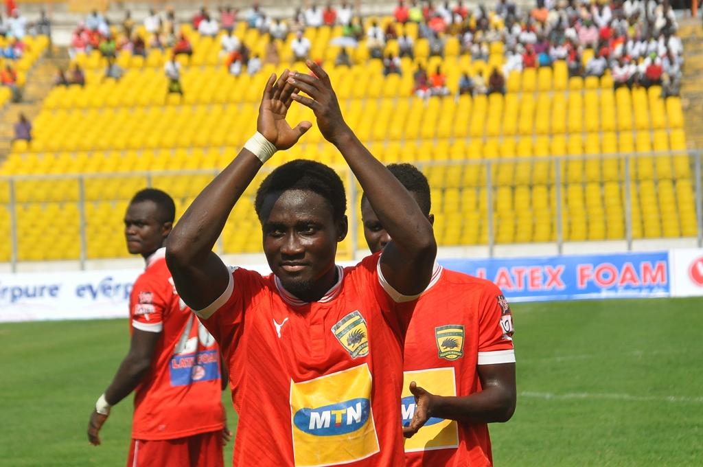 Larbi Koomson scored as Kotoko brushed aside BA United 4-3