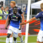 Ghanaian youngster Nana Boateng scores opener in Stromsgodset win in Norway