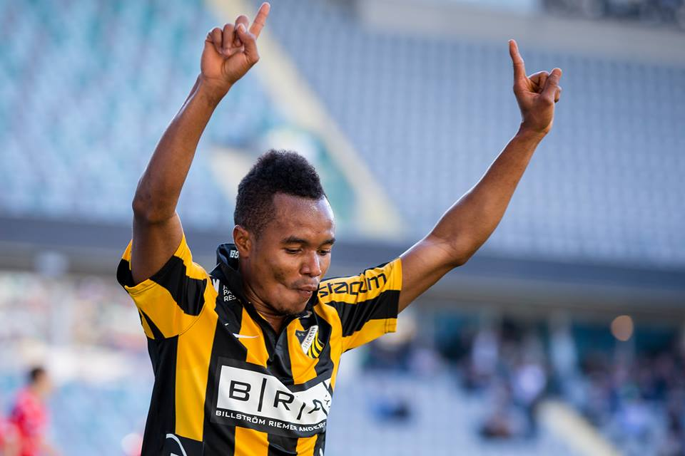 Nasiru Mohammed is hungry for more goals